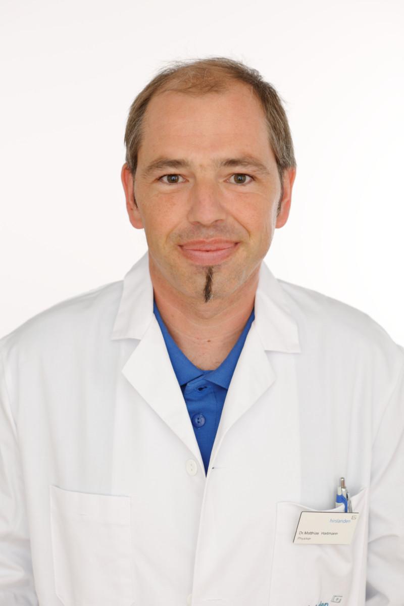 Dr. Matthias Hartmann Leiter Bestrahlungsplanung & Informatik, Radiotherapie Hirslanden AG