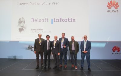 Infortix AG – Huawei Growth Partner of the Year