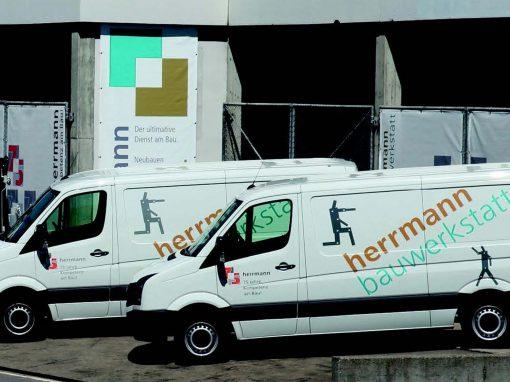 Herrmann Bauunternehmung AG: Betreuung einer KMU-Infrastruktur