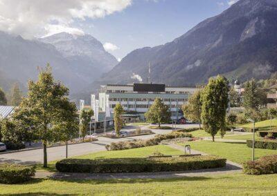 Kliniken Valens: Netzwerk und Security an 7 Standorten